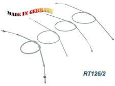 MZ/MUZ Lot de câbles sous Gaine RT125/2 Plein Gris complet (de 4 pièces) - MOTO