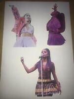 Araina Grande Sweetener World Tour Stickers X3
