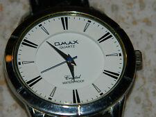 pour pieces OMAX crystal WATCH QUARTZ for parts Watch MONTRE uhr JAPAN vintage