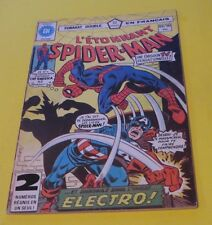 1978 SPIDER-MAN #89-90 RARE FRENCH CANADA HÉRITAGE VARIANT ELECTRO !