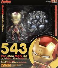 New Good smile company 543 Nendoroid Avengers Iron Man Mark 43 Hero\'s ABS&PVC