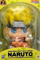 New MegaHouse Chimi Megasofubi NARUTO Shippuden and nine lama From Japan