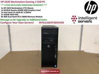 HP Z420 Workstation Intel Xeon E5-1650 3.2GHz 64GB RAM 256GB SSD Nvidia K5000