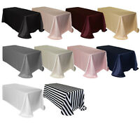 YCC Linens - L'amour Rectangular Tablecloths for Weddings and Special Events