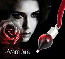 choker collarino the vampire diaries vampiri twilight ampolla sangue rosso