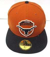 4d856397f8e Texas Longhorns Men s New Era 59FIFTY 7 1 2 Fitted Cap Hat
