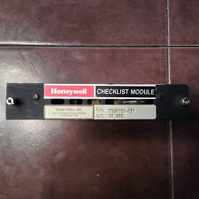 Honeywell CK-400 Checklist Module for Hawker 7990197-131 for HS-800