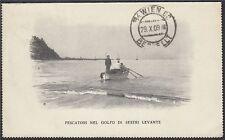 Alte Postkarte 1909 Levante Italien nach Wien