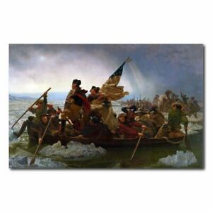 George Washington's crossing of the Delaware River oil painting reproduction pri