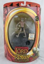 Lord of the Rings Gollum Action Figure with Electronic Sound Toy Biz, Sealed