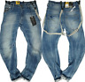 Gstar Arc 3D Loose Tapered Fit Jeans Braces Mens Med Aged Size 28W 32L *REF133-I