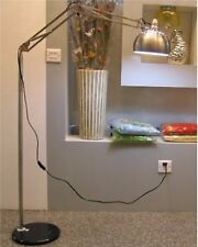 New Modern Style Retro Metal Shade Black Marble Base Arco Floor Lamp