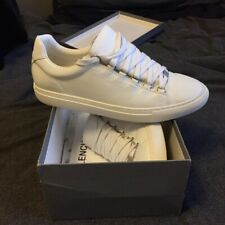 Balenciaga Arena Low Tops White Leather UK Size 10 / EU 45
