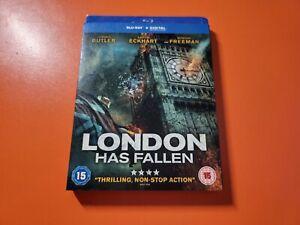 London Has Fallen Blu Ray - Butler / Freeman - Brand New Sealed - Fast P+P