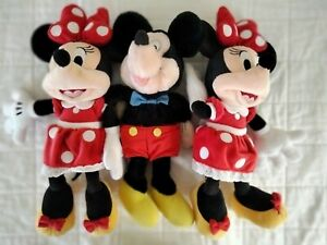 Mickey Mouse Minnie Mouse Plush Toy