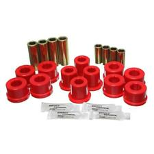 Energy Suspension Control Arm Bushing Kit 8.3126R; Red for Toyota Supra Front
