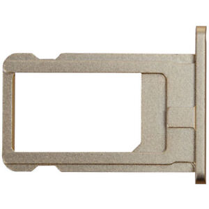 """NEW Nano Sim Card Tray Holder Slot Replacement for iPhone 6 Plus 6+ 5.5"""" Gold"""