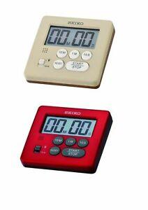 Seiko Timer Kitchen Sports Stopwatch Countdown Timers