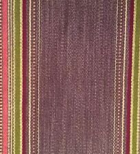 DESIGNERS GUILD Carlow stripe wool cotton Belgium purple Remnant New