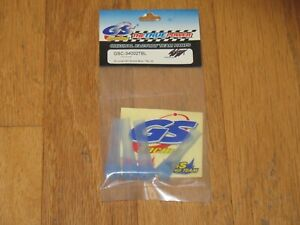 GS Racing GSC-34002TBL Silicone Shock Boot Blue 1/8 8th Blue NEW Vintage RC