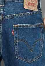 Authentic Original Genuine New LEVI'S 501 JEANS Men's Medium Stonewash 36 - 32