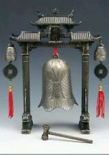 Chinese Feng Shui Carp Fish Dragon Chime Bells Gong Home Decor