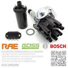 RAE ELECTRONIC DISTRIBUTOR BOSCH MOD/COIL V8 253 & 308 RED [HOLDEN LH-LX TORANA]