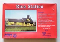 ✔️ SEALED HO Scale Rico Station Structure Depot Model Kit 807 IHC Plastic New