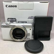CANON EOS M100 Mirrorless Digital Camera (Body Only) WHITE F/S From Japan