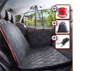 Dog Seat Cover for Back Seat Waterproof  Anti-Scratch Pet Protect + FREE BOWL