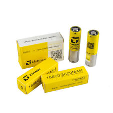 2pcs Genuine Listman 18650 IMR cell 3000mah 40A High Drain Rechargeable Battery
