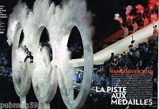 Coupure de Presse Clipping 2010 (10 pages) JO Jeux Olympiques Vancouver