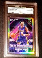 Kobe Bryant Express Lane Holo 2018-19 Panini Optic Los Angeles Lakers GEM MT 10