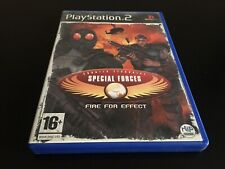 CT SPECIAL FORCES FIRE FOR EFFECT SONY PLAYSTATION 2 PS2 EDITION PAL