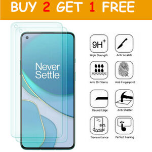 Tempered Glass Screen Protector For OnePlus Nord 2 N10 N200 N100 8/7/6T 6 Pro 8T