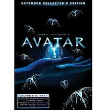 Avatar (Blu-ray Disc, 2010, 3-Disc Set, Extended Collectors Edition)