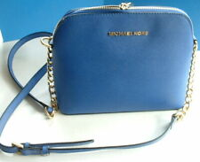 CROSS SHOULDER MICHAEL KORS LADIES BAG BLUE  VGC