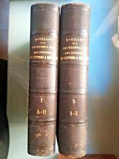 4000-  Dictionnaire universel des Sciences, des Lettres, des Arts, BOUILLET,1855
