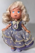 "Vintage My Little Angel Daphne 6"" Doll Figure ERTL Music Note Purple Dress 1993"