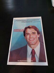 Personality Comics Presents Arnold Schwarzenegger High Grade NM