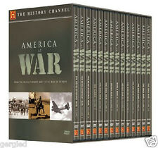NEW America at War DVD Megaset Box Set 2009 14-Disc Set History Channel