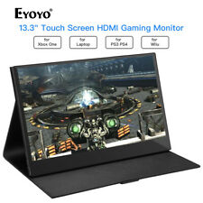"""13.3"""" Inch 1920*1080 10 Point Touch Screen Gaming Monitor for PS3 PS4 PC Laptop"""