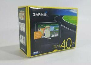 "Garmin Nuvi 40LM 4.3"" Portable GPS Navigator Lifetime Maps Complete Works Great"