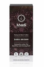 Khadi Naturel Couleur des Cheveux - Marron Foncé - 100gr - Herbes Coloration de