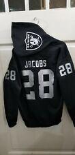 Las Vegas Raiders Jersey Style Hoodie Hoody Hooded Sweatshirt
