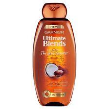 Garnier Ultimate Blends Sleek Restorer Shampoo for Dry Frizzy Hair 400ml