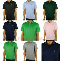 Polo Ralph Lauren Mens Polo Shirt Performance Interlock Pony Logo Short Sleeve