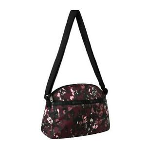 LeSportsac Classic Collection Half Moon Crossbody Bag in Lafayette Leopard NWT
