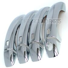 AUDI A4 A5 CHROME STYLING EXTERIOR DOOR HANDLES COVERS TRIMS KIT SET S4 S5 sline