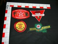 Gas & Oil related vintage advertising patch collection